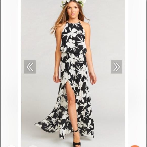 afeb95b25f4 NWT Show Me Your Mumu Heather Halter Dress